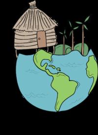 World is my village Logo6textfull